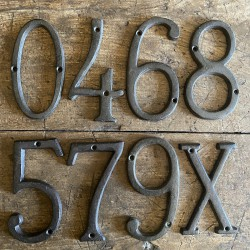 Cast iron - numbers