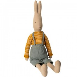 Rabbit with bibs size 5 -...