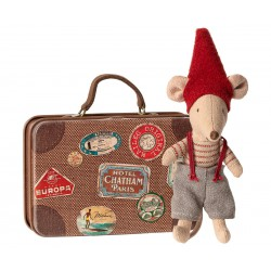 Christmas mouse in suitcase...