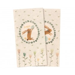 Set of 4 Napkin Easter -...