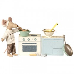Cooking Set with Chef - MAILEG