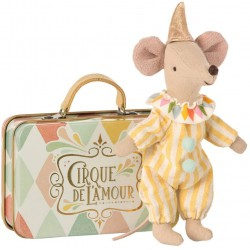 Circus Mouse Clown & Case...