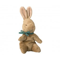 Baby Bunny w. blue ribbon...