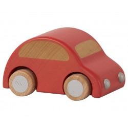 Wooden Car Red - MAILEG