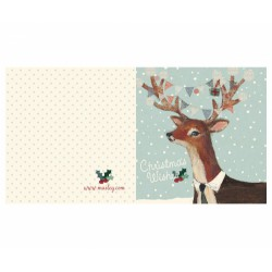 Maileg - Reindeer Double Card