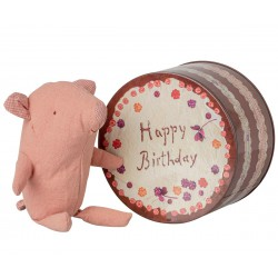 Truffle pig in cake box...