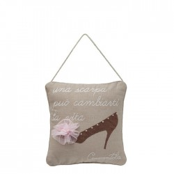 Cinderella shoe pillow - A...