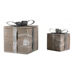 Set of box with ribbon - BADEN