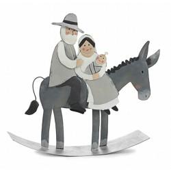 Holy family on the donkey -...