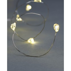 Maggie String Light silver...
