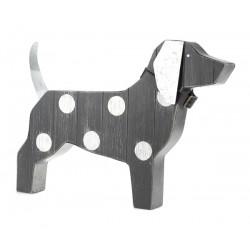Wooden poised dog - BADEN...