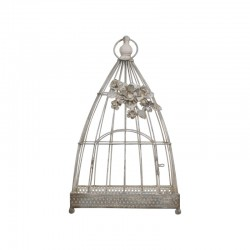 Birdcage with decorative...
