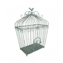 Large green birdcage- ANTIC...
