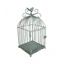Small green birdcage -...