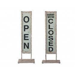 Open/Close Entrance Sign -...