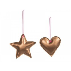 Star/Heart Copper - Set of...