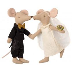 Coppia topi sposi in...