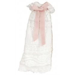 Micro Christening Robe Girl...