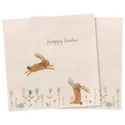 Napkin Happy Easter field...