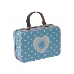 Metal Suitcase Blue 2010 -...