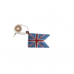 Metal ornament UK flag -...