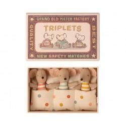 Triplets Baby mice in...