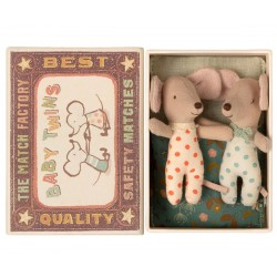 Baby Mice Twins in matchbox...