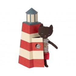 Sauveteur, Tower with cat...