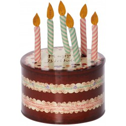 Birthday Cake Box w. 5...