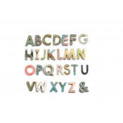 Wooden Letters Typo W20