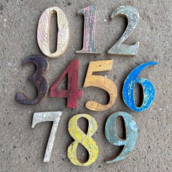 Wooden Numbers W15
