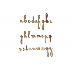 Letters Iron Lower Case...