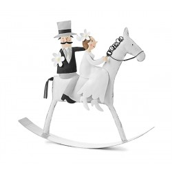 Sposi su Cavallo a Dondolo...